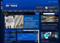 Sitio web de Monex Grupo Financiero Sucursal Guadalajara