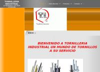 Sitio web de Tornillería Industrial