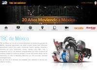 Sitio web de Tbc México