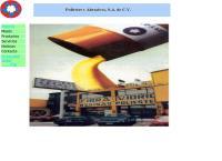 Sitio web de Poliéster y Abrasivos, S.a. de C.v