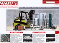Sitio web de Cecsamex S.a. De C.v