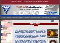 Sitio web de Embobinados Vaca - Motores Eléctricos -