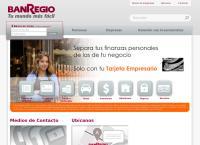 Sitio web de BANREGIO Sucursal Tijuana Rio