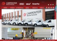 Sitio web de Carpenter Aceros FortunaSucursal Querétaro