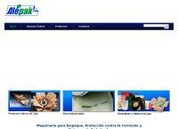 Sitio web de Alepak, S.a. de C.v