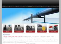 Sitio web de Aceros y Válvulas del Norte, S.A. de C.V. AVANSA