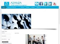 Sitio web de Azanza y Asociados, S.c