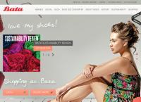 Sitio web de Calzado Sandak, S.A. de C.V. BATA