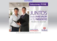 Sitio web de BAN BAJIO Sucursal Aguascalientes