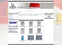 Sitio web de Blowtek de Nuevo León