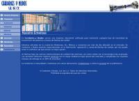 Sitio web de Cardanes y Nudos, S.a. de C.v