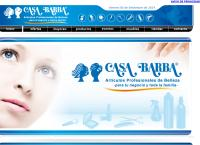 Sitio web de Casa Barba