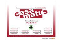 Sitio web de Casa Matus, S.A. de C.V