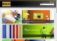 Sitio web de Pinturas Casther, S.a. de C.v