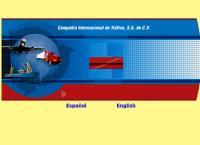 Sitio web de Compañía Internacional de Tráfico, S.A. de C.V. CIT