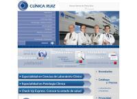 Sitio web de Laboratorios Clinicos de Puebla SA de Cv