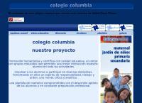 Sitio web de Colegio Columbia