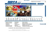 Sitio web de Distribuidora Industrial de Refacciones, S.A. DIRSA