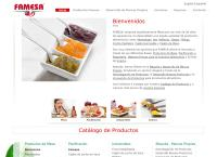 Sitio web de Famesa Fábrica de Mermeladas, S.A. de C.V