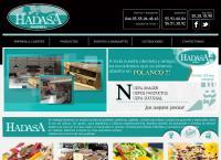 Sitio web de Pastelería Hadasa, S.A. de C.V