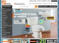 Sitio web de Home Depot San Pedro Garza García