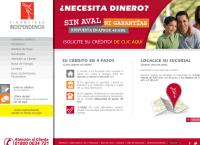 Sitio web de Financiera Independencia Sucursal Martínez de la Torre