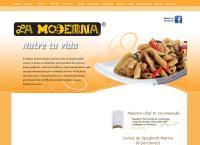 Sitio web de Productos Alimenticios La Moderna S.a. de C.v