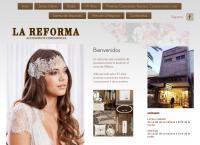 Sitio web de LA Reforma