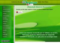 Sitio web de Lepisur Grupo Industrial S. de R.L. de C.V