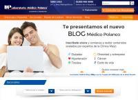 Sitio web de Laboratorio Médico Polanco, S.a. de C.v