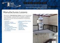 Sitio web de Manufacturas Lozano, S.A. de C.V