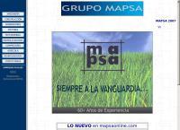 Sitio web de Maquinaria Del Pacífico, S.a. de C.v