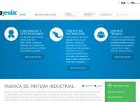 Sitio web de Pyrolac, S.a. de C.v