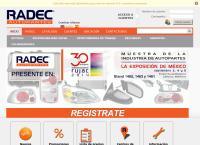 Sitio web de Radec, S.a. de C.v