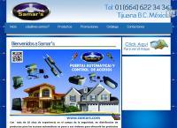 Sitio web de Grupo Samar's