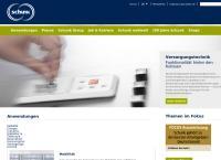 Sitio web de Schunk Electro Carbón, S.A. de C.V. Sintermetal