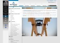 Sitio web de Serviacero Comercial