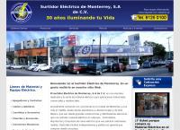 Sitio web de Surtidor Eléctrico de Monterrey