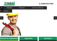 Sitio web de Aspersores Tinsa, S.a
