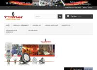 Sitio web de Tishman Lighting Uii, S.A. de C.V