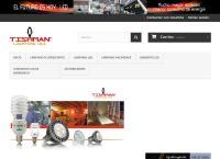 Sitio web de Tishman Lighting Uii, S.A. de C.V
