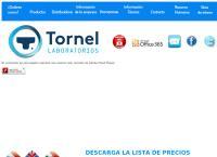 Sitio web de Laboratorios Tornel, S.a