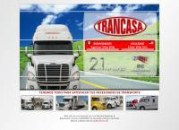 Sitio web de Transportes Canales, S.A. de C.V. Trancasa