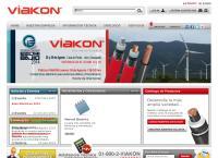 Sitio web de Conductores Monterrey, S.A. de C.V. Viakon