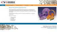Sitio web de Wemex Superabrasivos S. de R.l. de C.v