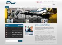 Sitio web de Woma de México, S.a. de C.v