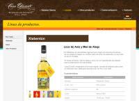 Sitio web de Grupo Agroindustrial y Alcoholero de México, S.A. de C.V. AAMSA