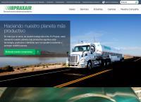 Sitio web de Praxair - Sucursal Tula