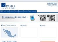 Sitio web de ROTO - Sucursal Torreón