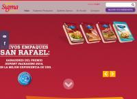 Sitio web de Sigma Alimentos Guadalajara